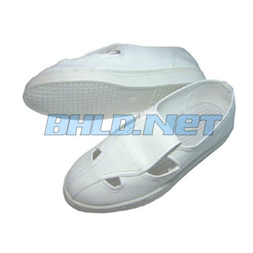 Giày bảo hộ chống tĩnh điện 4 lỗ – trắng