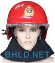 Mũ chống cháy Hàn Quốc (phủ gáy vải nomex màu đen)