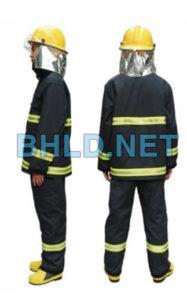 Quần áo chống cháy Nomex 2 lớp chịu nhiệt 700 độ (2)